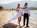 Svatba na oko v Řecku