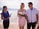 Svatební obřad na ostrově Zakynthos