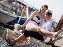 Novomanželské foto - ostrov Zakynthos