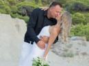 Novomanželské foto- ostrov Lefkada