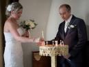 svatba v kostele        , Řecko