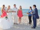 svatba na pláži, Řecko, Zakynthos