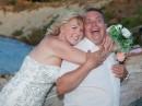 svatba na pláži, Řecko