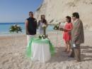 Svatba na pláži, Navagio, Zakynthos, Řecko