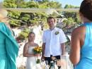 Svatební obřad na ostrově Skopelos, Řecko
