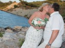 Svatba na pláži Alikanas, Zakynthos