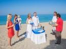 Svatební obřad na ostrově Lefkada