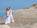Ostrov Lefkada, svatba na pláži
