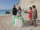 Svatební obřad, Řecko, pláž Navagio