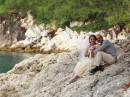 Svatba na ostrově Skopelos, útes Amarandos