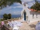 Svatba v kapličce Kefalonie