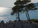 Svatba na útesu, ostrov Skopelos, Řecko