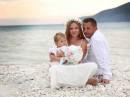 Svatba na pláži, Lefkada, Řecko