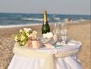Obřadní stolek, svatba na Krétě
