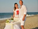 Svatba na pláží, ostrov Kréta