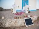 Dekorace obřadního místa, ostrov Kos