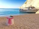 Svatba na pláži Navagio, Řecko, Zakynthos
