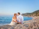 Svatba na pláži Kathisma, Lefkada