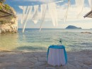 Dekorace obřadního stolku, ostrov Cameo, Zakynthos