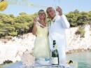 Svatba na řeckém ostrově Skopelos