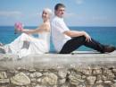 Svatba v kostele, ostrov Zakynthos, Řecko