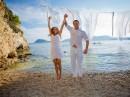 Svatba na ostrůvku Cameo, ostrov Zakynthos