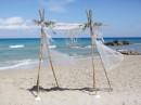 Svatba na pláži, ostrov Zakynthos