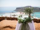 Dekorace obřadního stolu, ostrov Kréta