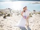 Svatba na pláži, Kréta, Řecko