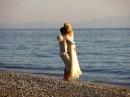 Svatba na pláži, Řecko, ostrov Skopelos