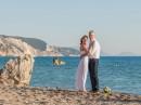 Svatba na pláži, Řecko, Lefkada