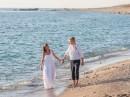 Lefkada, svatba na pláži