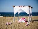 Dekorace svatebního místa, Kréta