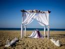 Svatební altán na Krétě