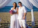 Svatba na pláži, Řecko, Kréta