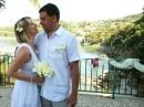 Svatební obřad, ostrov Kefalonie