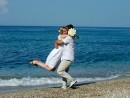 Novomanželské foto - Řecko, Kefalonie