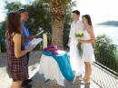 Svatební obřad, Kefalonie, Poros
