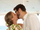 Svatba na lodi, ostrov Kefalonie