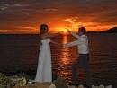 Svatba na pláži - ostrov Skopelos