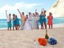 Svatba na pláži Navagio, Zakynthos
