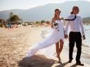Svatba na pláži Alikanas