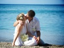 Svatba na řeckém ostrově Kefalonie