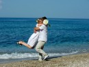 Svatba na ostrově Kefalonie