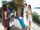 Svatební obřad na Kefalonii