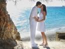 Novomanželské foto Kefalonie