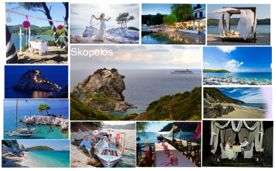 Svatby na Skopelosu
